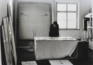 1983 Studio visit, Susanne Granzer