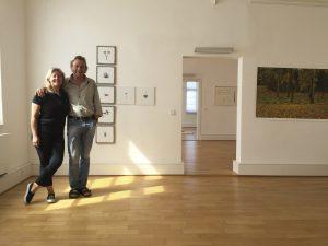 Curators Anne Linder and Volker Sonntag