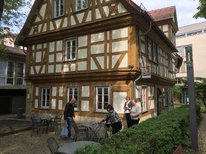 Spitalmühle: Lothar Rzehak, Renata Wahl, Ulla Röber, Monika Buchheit, Foto: KUNST KLOSTER
