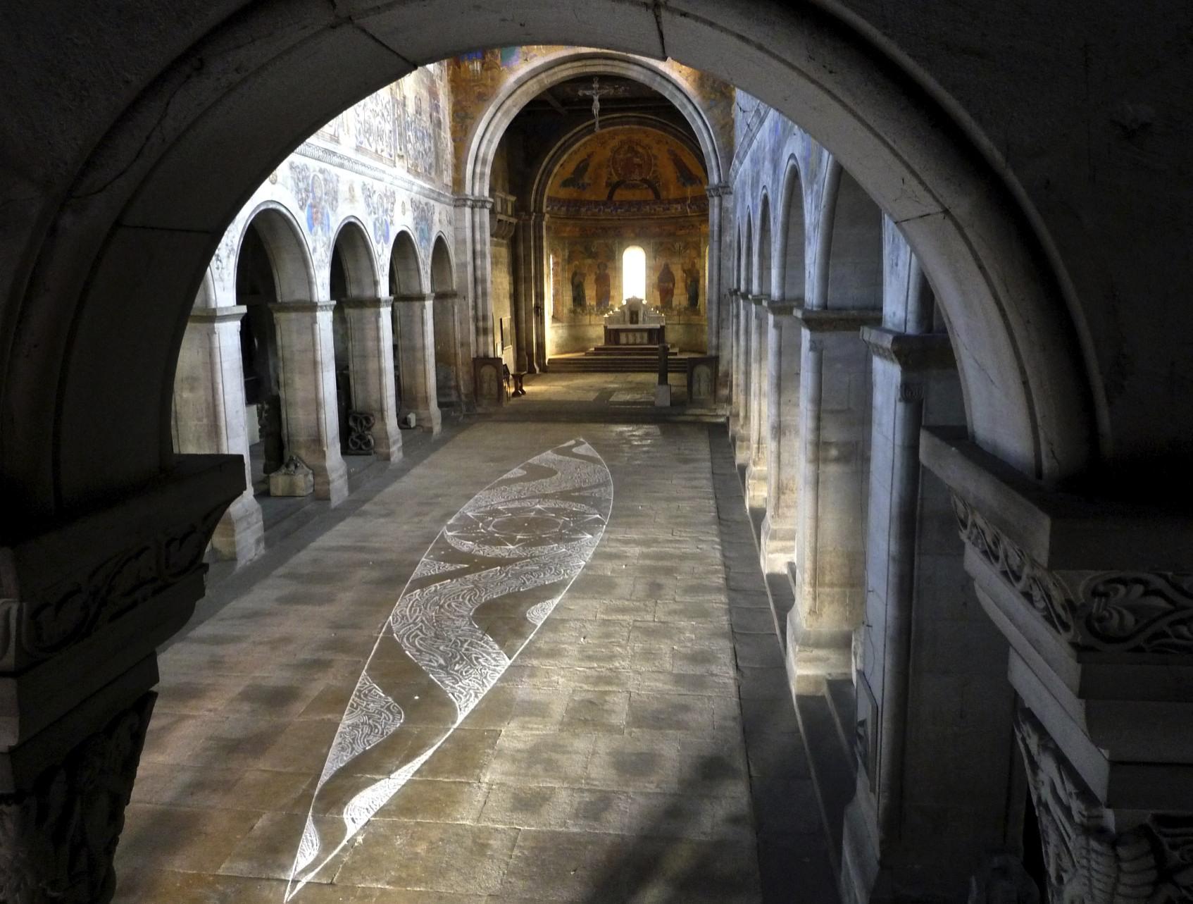 Licht-Grund, Installation Johanniskirche