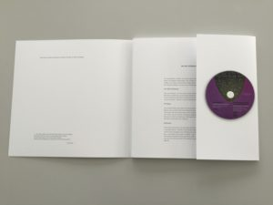 Kuns Mappe mit Film CD