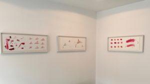 Werkgruppe: Kastanien-Blüten, 2 Zeichnungen, 2009, Foto: KUNST KLOSTER