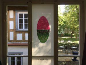 Fensterseite: Foliengalerie, Echinacea-Prozess.5. Wirkung, Foto: KUNST KLOSTER