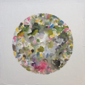 Natur-Ikone, Apfel-Blüten-Farb-Kreis, 2019